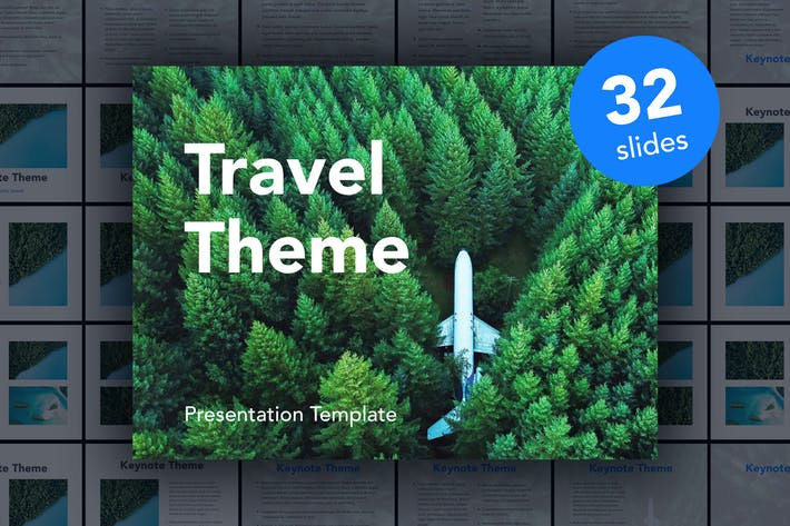 Thumbnail for Avid Traveler Keynote Template