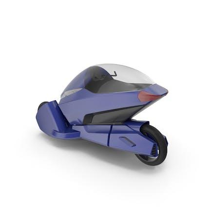 Concept Motor Cycle Azul Oscuro