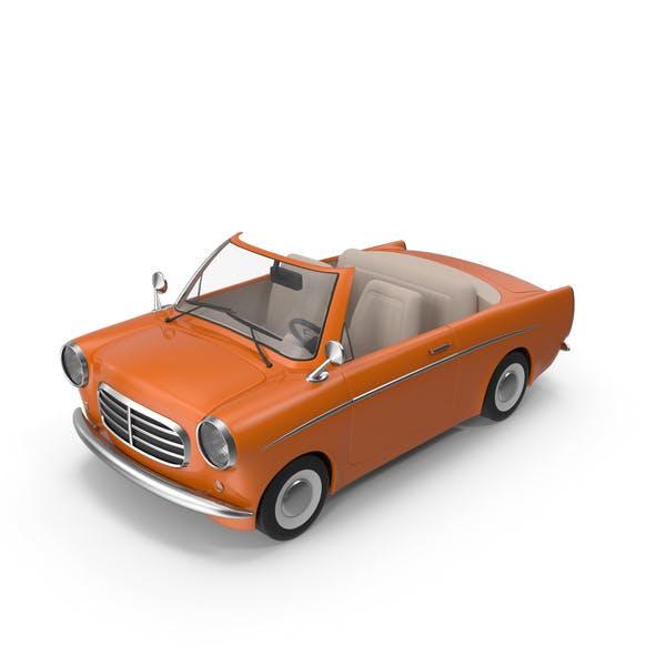 Мультфильм автомобиль Оранжевый