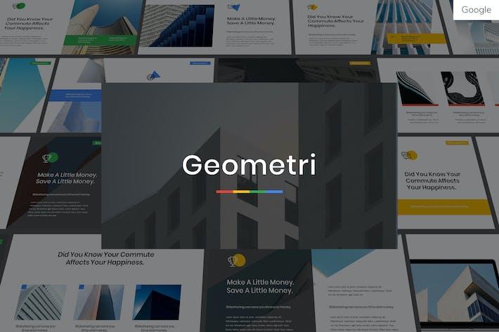 Geometry - Multipurpose Google Slides