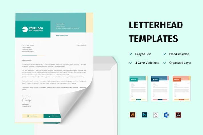 Thumbnail for Letterhead Business