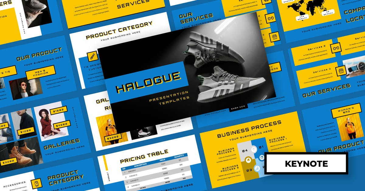 Download Halogue - Creative Keynote Presentation by TMint