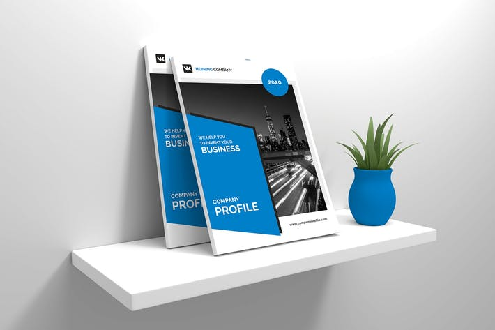 Cover Image For A4 Business Company Profile