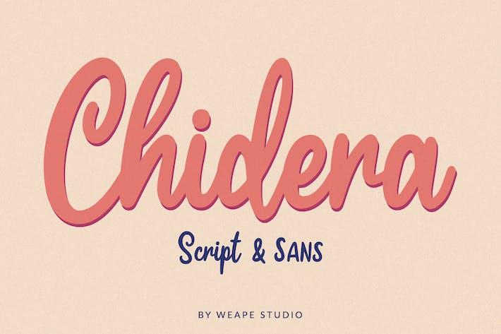 Chidera Script & Sans