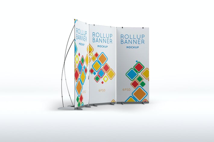 Thumbnail for Roll Up Banner Mock-Up