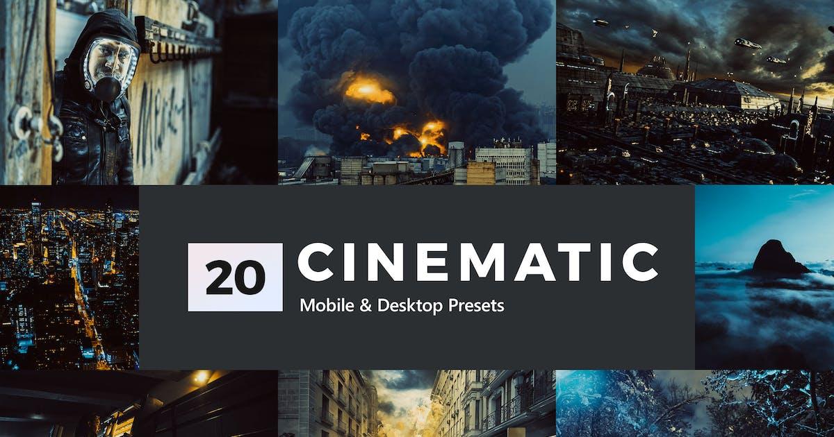 Download 20 Cinematic Lightroom Presets & LUTs by sparklestock