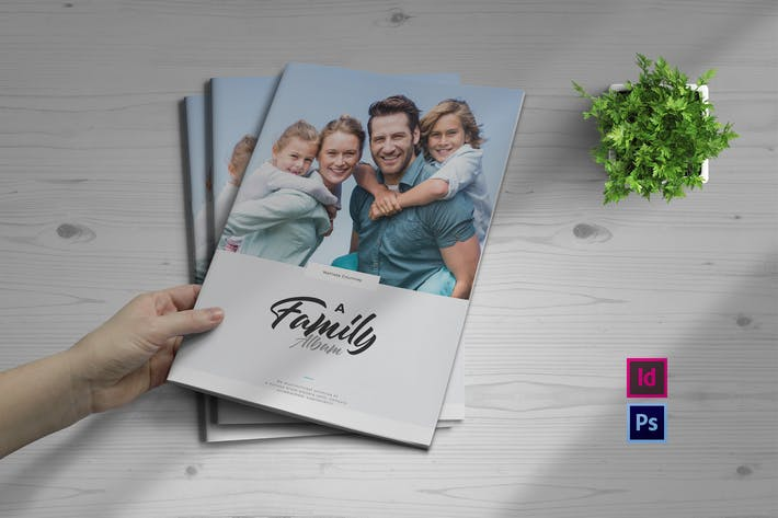 Cover Image For Family Album Template