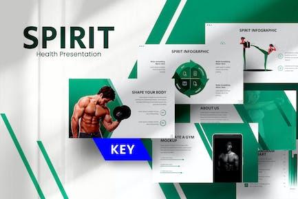 Spirit Gym Keynote Template
