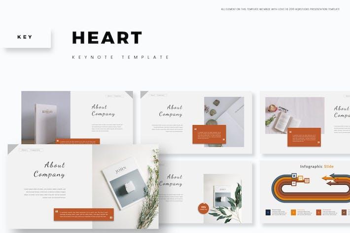 Heart - Keynote Template