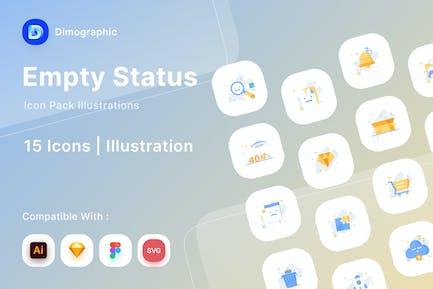 Empty Status Icon Pack