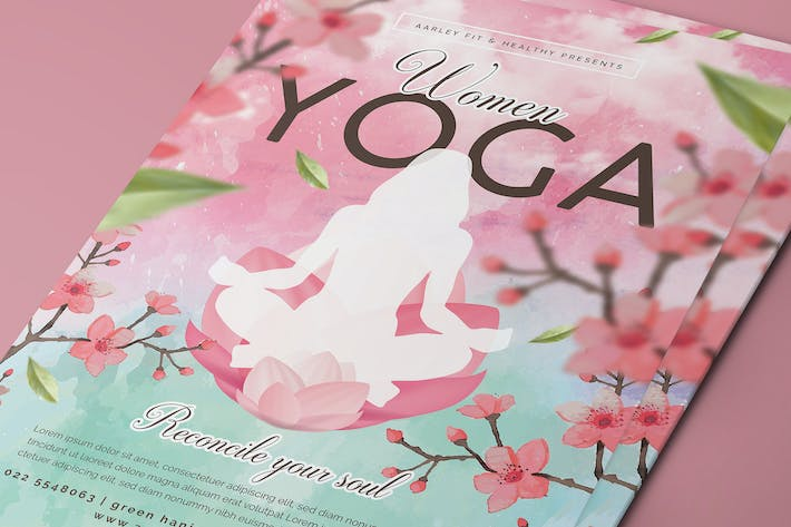 Thumbnail for Women Yoga Flyer / Poster