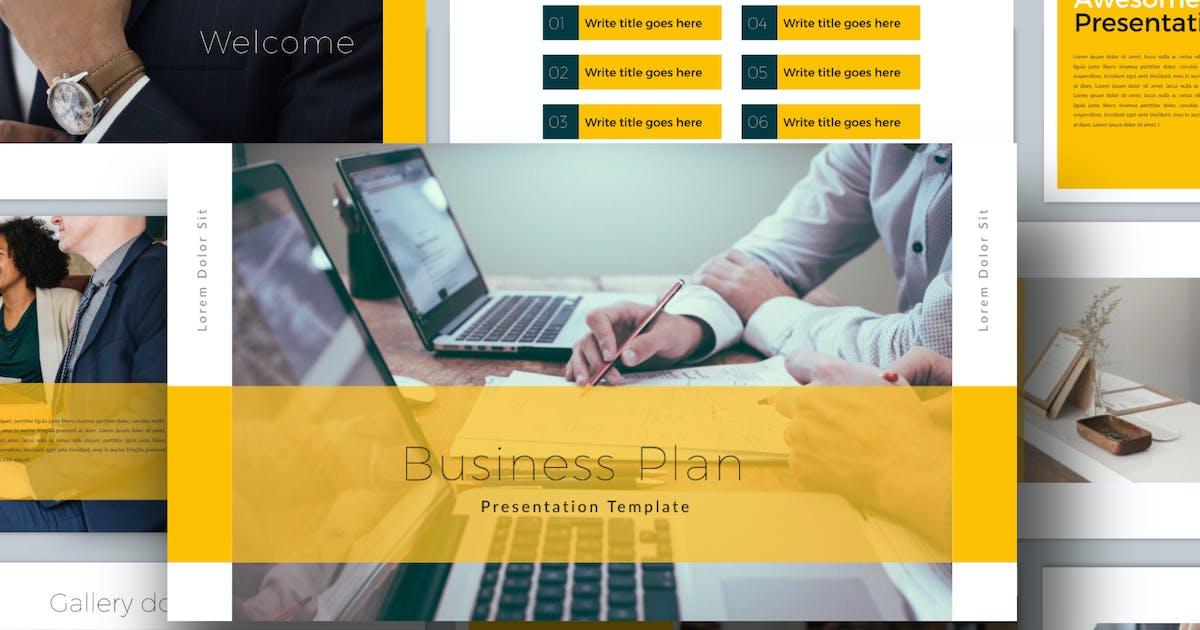 Download Business Plan Keynote by dirtylinestudio