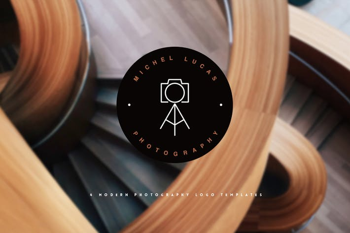Thumbnail for Photography Logo Templates
