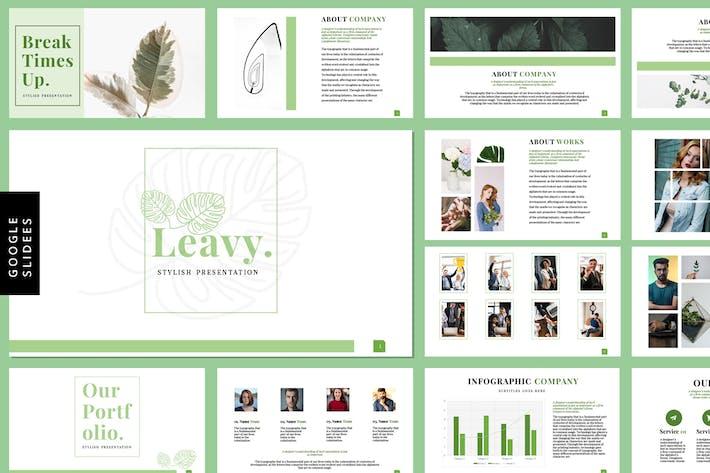 Thumbnail for Leavy - Google Slides Templates