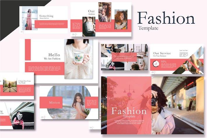 Thumbnail for Fashion Style Google Slide Minimal