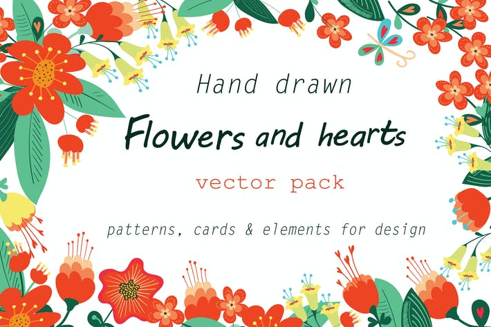Thumbnail for Flowers and hearts