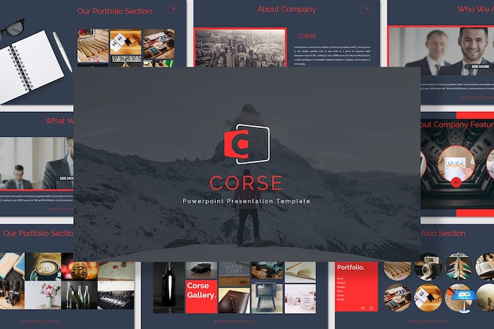 Thumbnail for Corse - Keynote Template