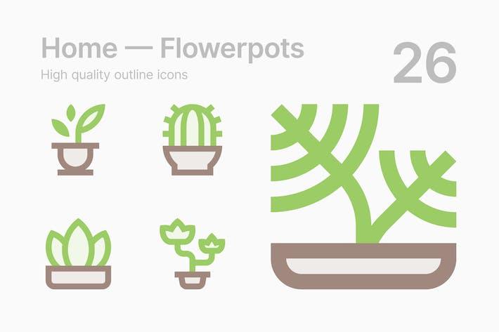 Thumbnail for Flowerpots