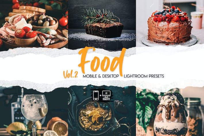 Thumbnail for Food Lightroom Presets Vol. 2