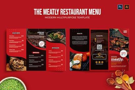 Meatly - Restaurant Menu