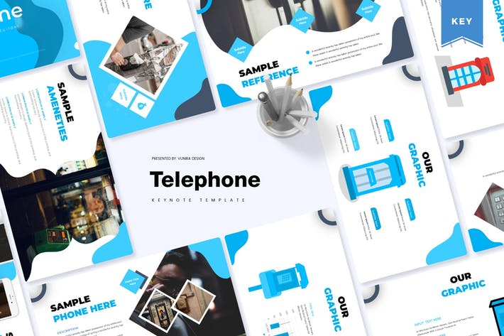 Thumbnail for Telephone | Keynote Template