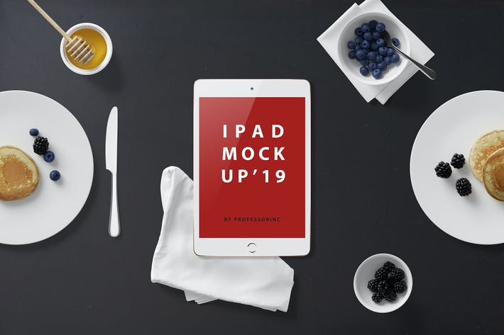 Thumbnail for iPad Mini Mockup - Kit desayuno