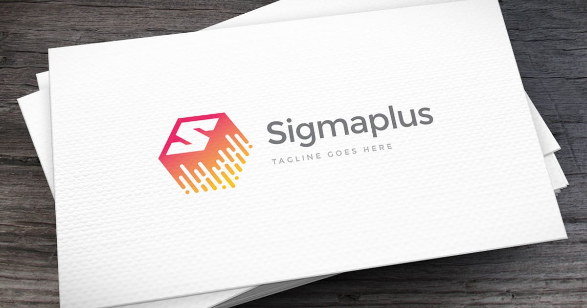 Sigmaplus Letter S Logo Template by empativo