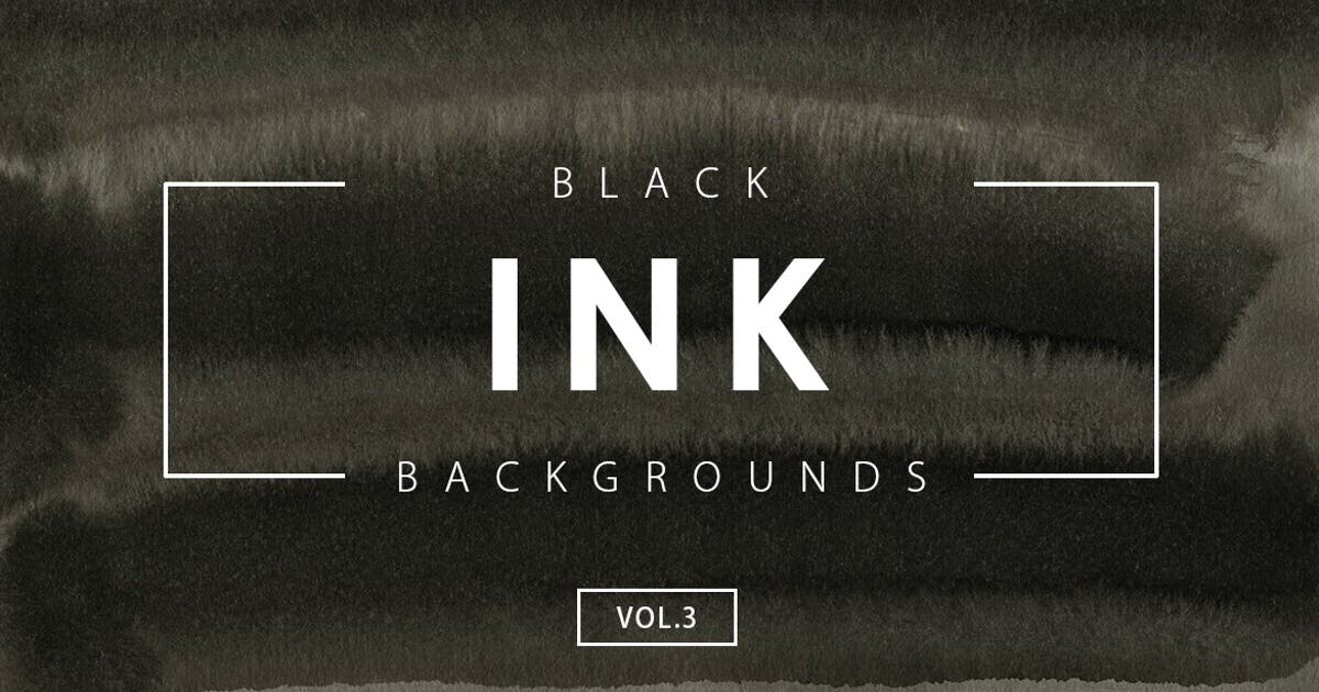 Download Black Ink Backgrounds Vol.3 by M-e-f