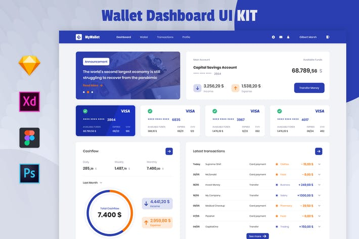 Thumbnail for Nuzie - Medical Wallet Dashboard