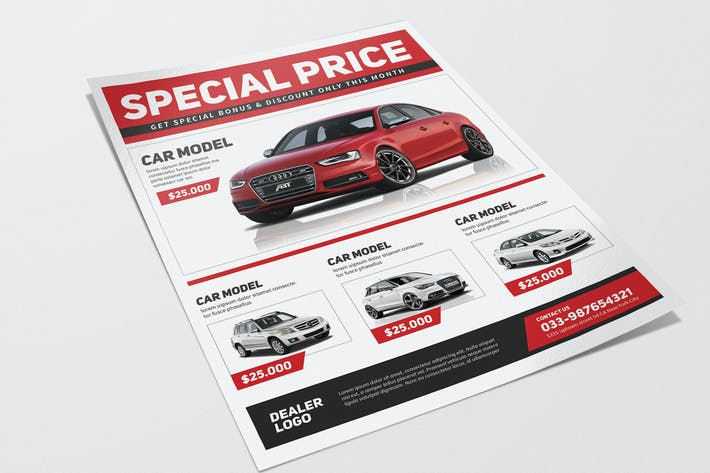Automotive Sale Flyer