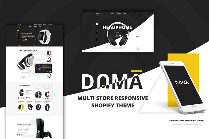 Thumbnail for Dama | Multi Store Responsive Shopify Theme