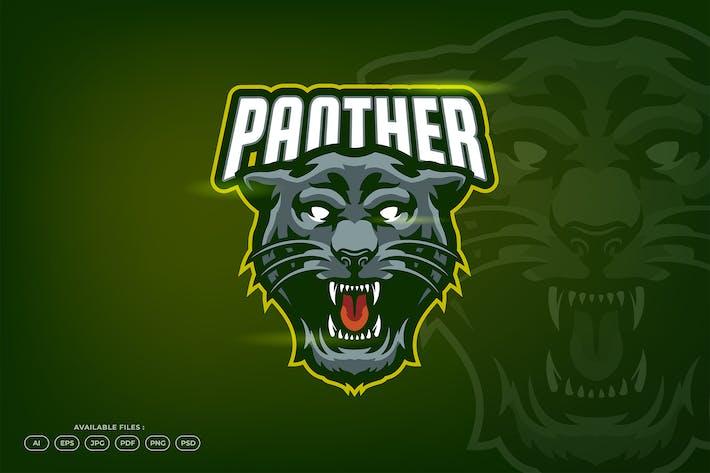 Thumbnail for Black Panther Cat Jaguar Head