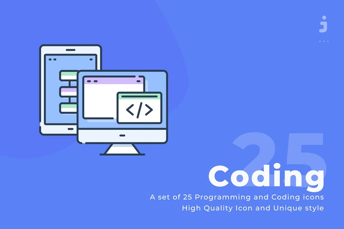 25 Programming icons - Web icon