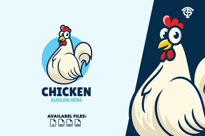 Chicken - Logo Mascot