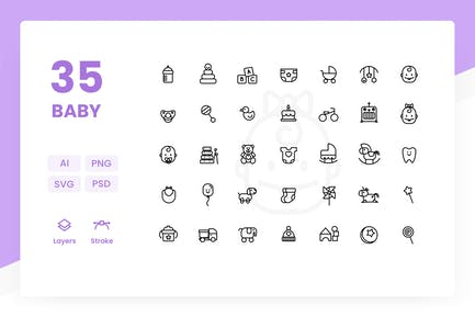 Baby - Icons Pack