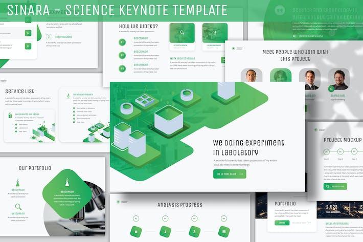 Thumbnail for Sinara - Science Keynote Template