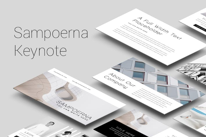 Thumbnail for Sampoerna - Minimal Keynote Template