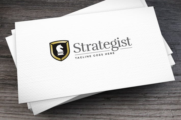 Thumbnail for Strategist Logo Template