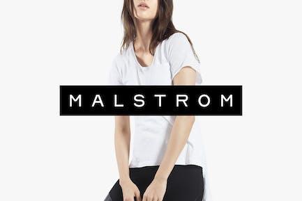 MALSTROM - Minimal & Timeless Display Typeface