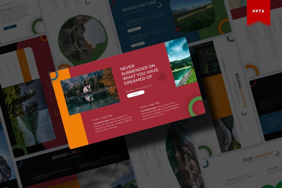 Natura | Powerpoint Template - product preview 0