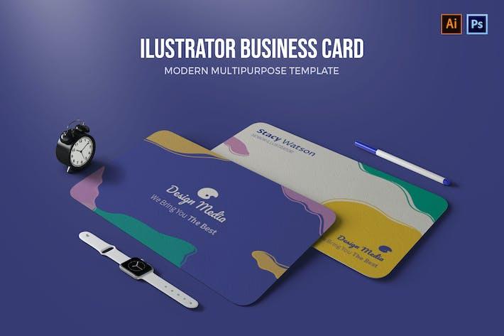 Thumbnail for Illustrator - Business Card