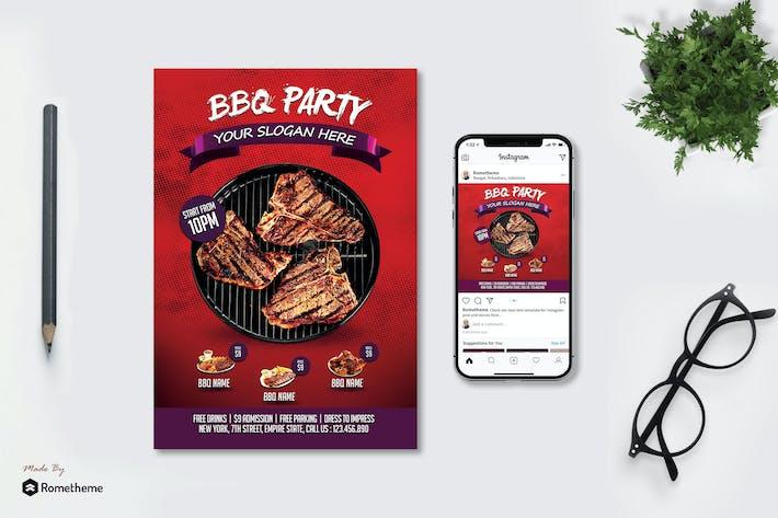 Thumbnail for BBQ - Flyer MR