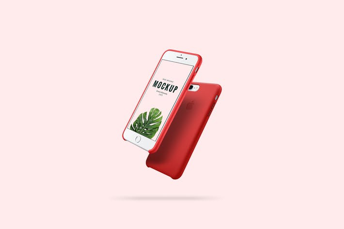 Thumbnail for iPhone Red Mockup