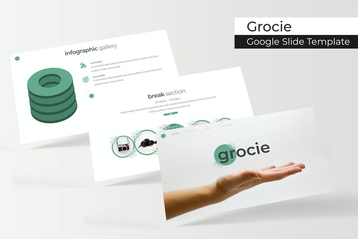 Thumbnail for Grocie - Google Slide Template