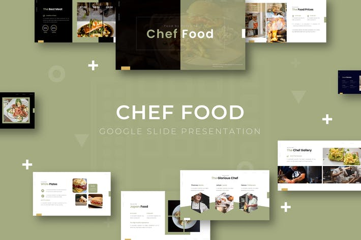 Thumbnail for Chef Food - Google Slide Template