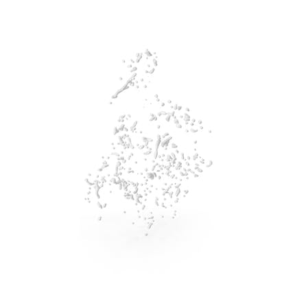 Gotas Líquidos Blancos