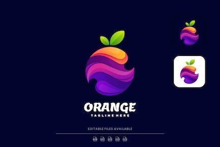 Orange Gradient Colorful Logo