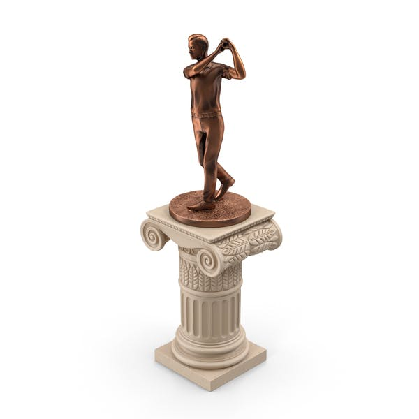Cover Image for Golf Statue