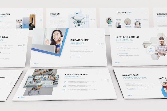 Thumbnail for Технология Google слайдов Шаблон