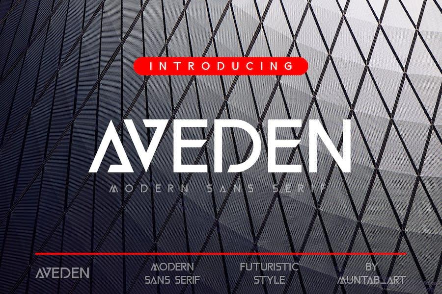 Aveden   Modern Sans